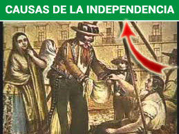 Causas de la independencia de mexico