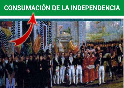 Etapas de la Consumación de la independencia de México