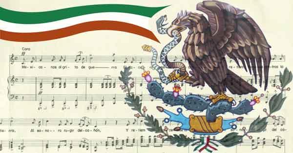 Los símbolos patrios mexicanos y su historia