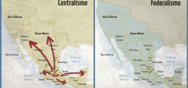 Federalismo y Centralismo mexicano. La lucha eterna