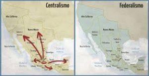 Federalismo y Centralismo mexicano