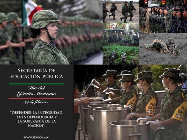 19 de febrero - Día del Ejercito Mexicano