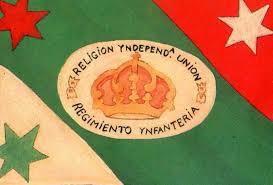 Bandera del regimiento de iturbide