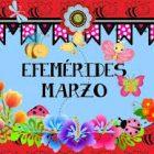 Efemérides del mes de marzo