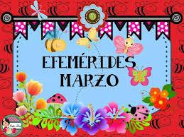 Efemérides de marzo