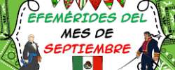Efemérides del mes de Septiembre