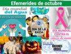 Efemérides del mes de Octubre