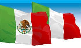 Bandera Méxicana Italiana
