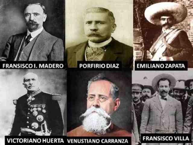 Los Caudillos de la Revolución Mexicana