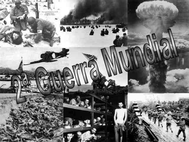 Relato histórico de la Segunda Guerra Mundial