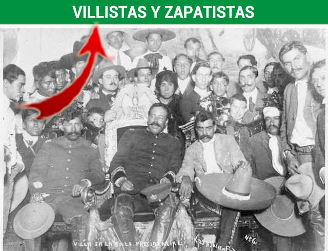 Villistas y Zapatistas