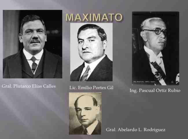 Los 3 presidentes del Maximato