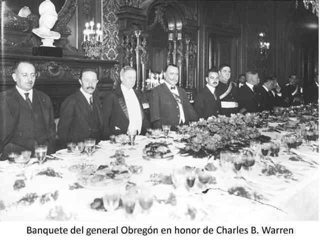 Imágenes del gobierno de Álvaro Obregón