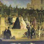 Maximiliano y Carlota en el Castillo de Chapultepec