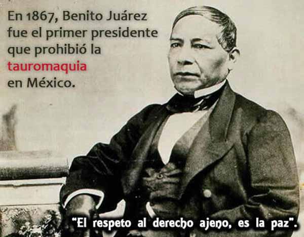 Relato histórico de Benito Juárez
