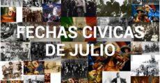 Fechas Cívicas de Julio