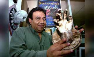 La mano peluda y la misteriosa muerte Juan Ramón Sáenz