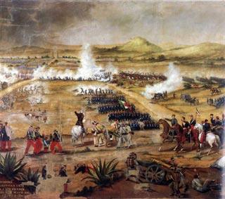 5 de mayo de 1862. Aniversario de la victoria sobre el ejército francés en Puebla