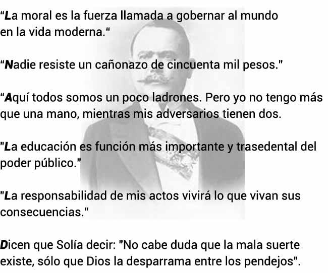 Frases de Álvaro Obregón
